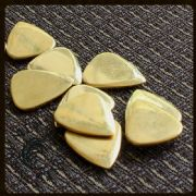 Metal Tones Mini - Brass - 1 Guitar Pick | Timber Tones